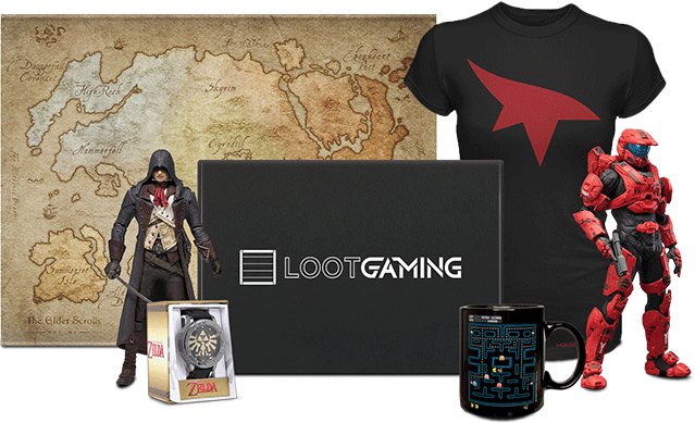 Loot Crate Geek And Gamer Boxes Greatness Reinvented